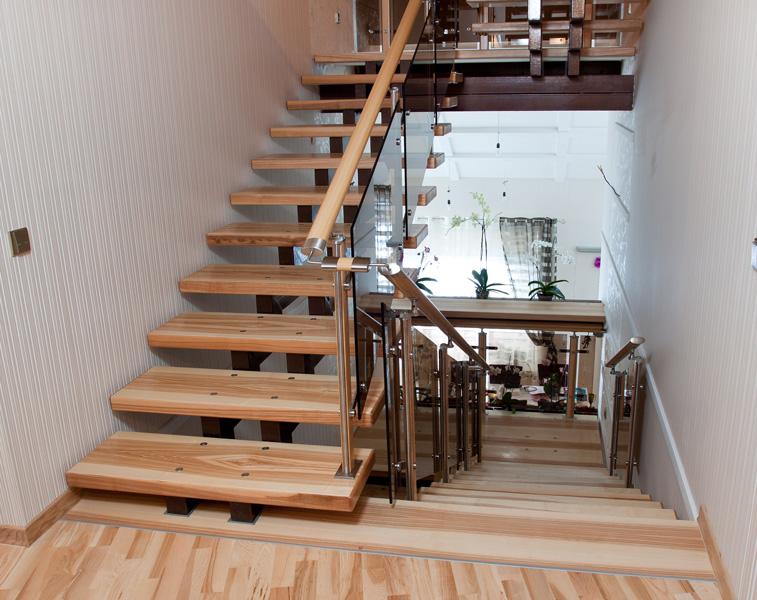 Лестницы на второй этаж фото в частный дом оренбург